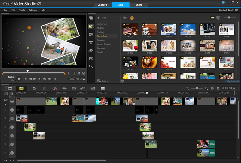 Corel Video Studio Pro X9 – videósorozat