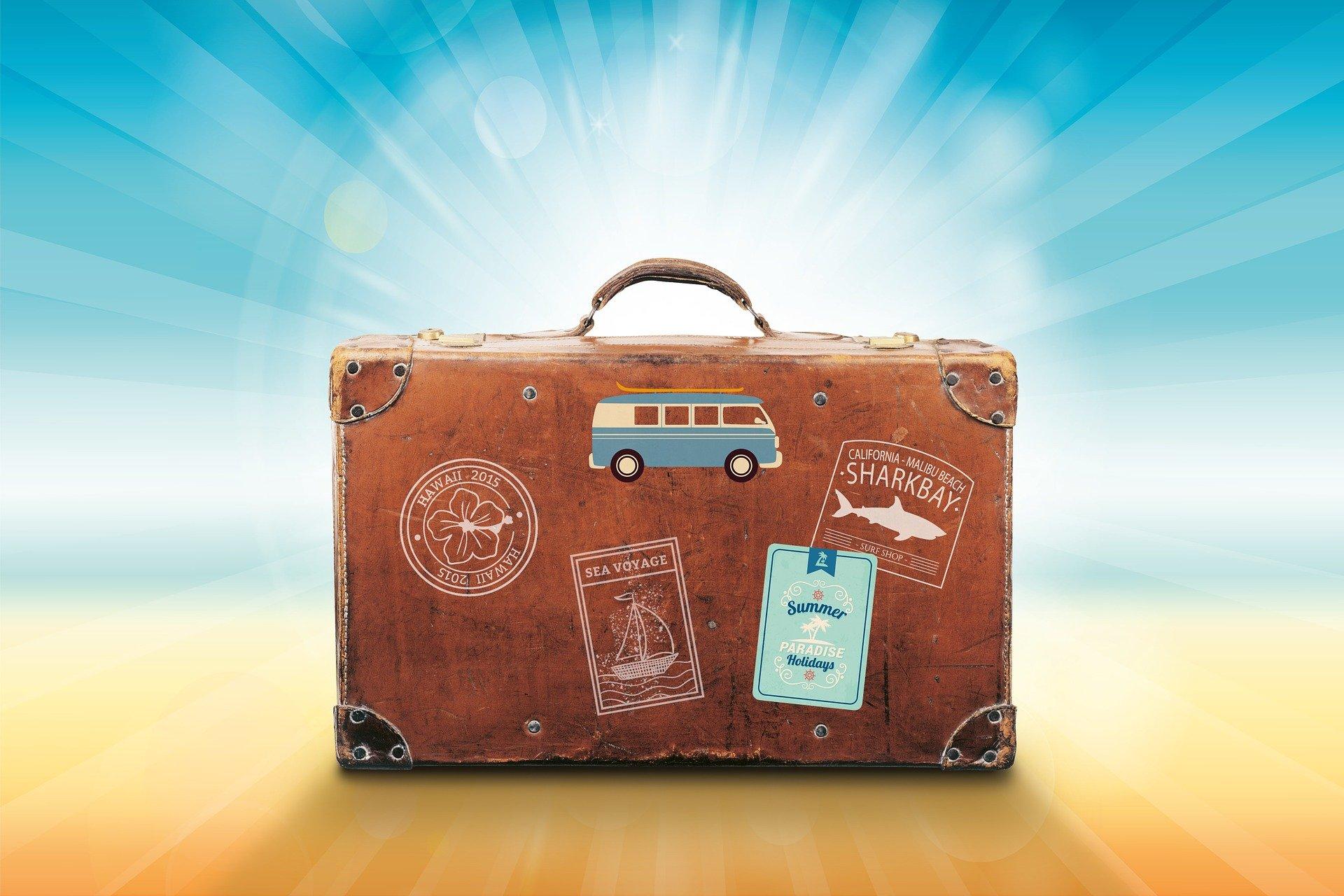 Nyaraláshoz bőrönd